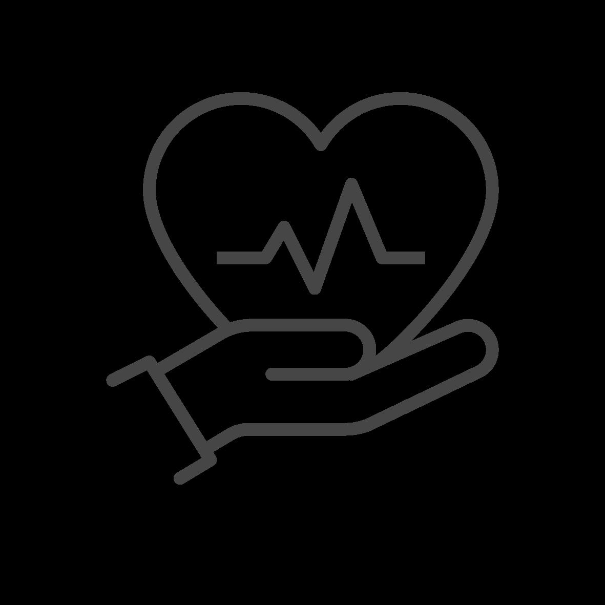 Vuxen-HLR med hjärtstartare